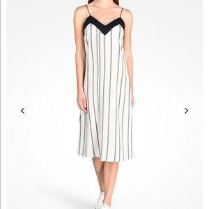 NWT Armani Exchange Striped Cami Dress